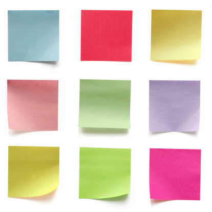 Adhesive Note「Vibrant Color Adhesive Note,office Supply,Label,Tag,Reminder,Pad,」:スマホ壁紙(2)