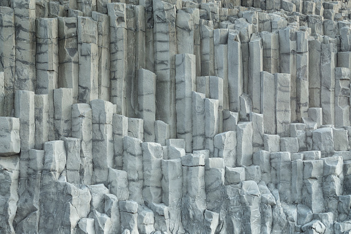 Basalt「Basalt columns, Vik in Iceland」:スマホ壁紙(6)
