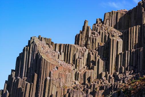 Basalt「Basalt columns, Panska skala Nature reserve」:スマホ壁紙(7)