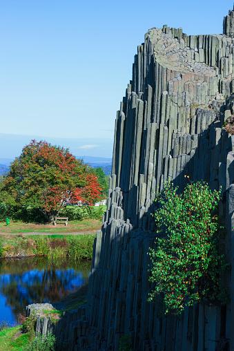 Basalt「Basalt columns, Panska skala Nature reserve」:スマホ壁紙(10)