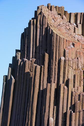 Basalt「Basalt columns, Panska skala Nature reserve」:スマホ壁紙(2)