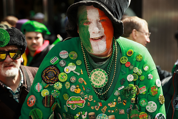 Day「Annual St. Patrick's Day Parade Held On New York's 5th Avenue」:写真・画像(10)[壁紙.com]
