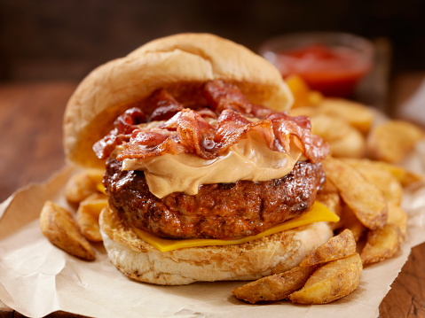 Bacon Cheeseburger「Peanut Butter Bacon Burger」:スマホ壁紙(15)