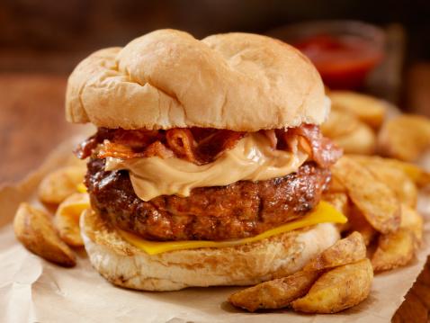 Hamburger「Peanut Butter Bacon Burger」:スマホ壁紙(15)