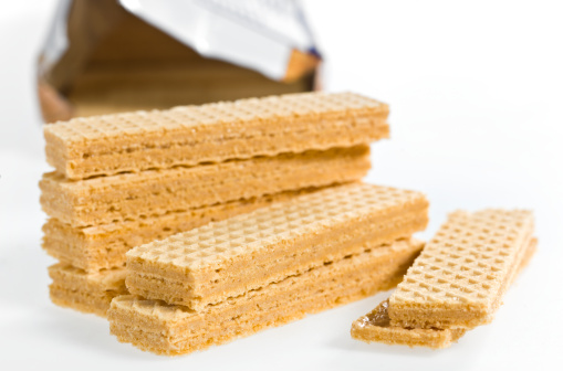 Waffled「Peanut Butter Filled Wafer Cookies」:スマホ壁紙(16)
