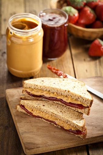 Peanut Butter And Jelly Sandwich「Peanut butter and jam sandwich」:スマホ壁紙(5)