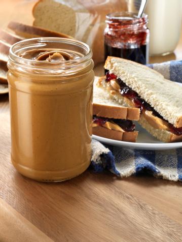 Loaf of Bread「Peanut butter Jar with Sandwich」:スマホ壁紙(19)