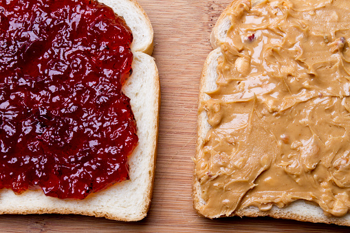 Loaf of Bread「Peanut Butter and Jelly Sandwich Fancy Lunch」:スマホ壁紙(14)