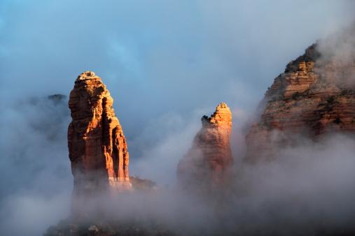 Sedona「Red Rock Clouds Sedona Arizona」:スマホ壁紙(9)