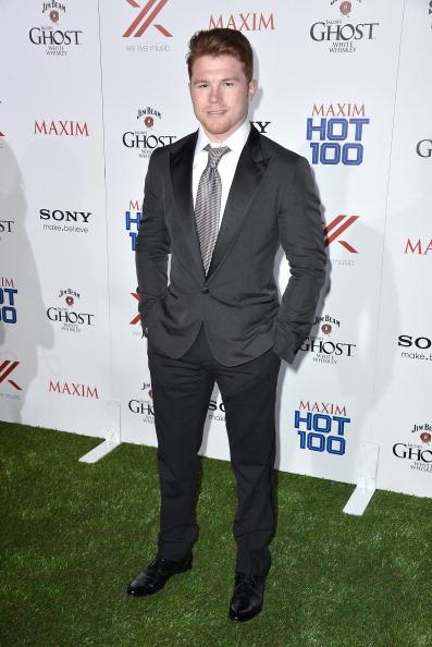 Saul Alvarez「Maxim Hot 100 Party - Arrivals」:写真・画像(18)[壁紙.com]