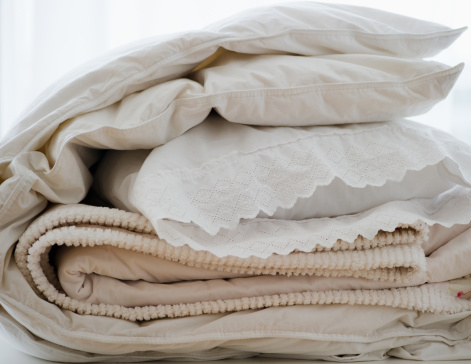 Washing「Folded bedding」:スマホ壁紙(11)