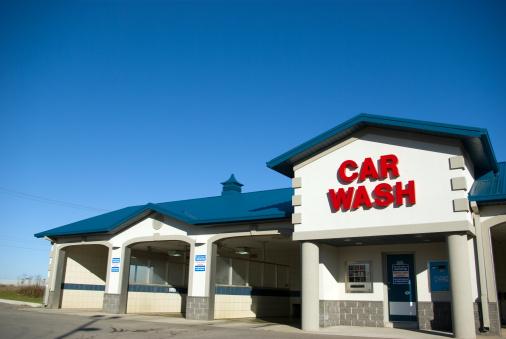 Car Wash「Blue Car Wash」:スマホ壁紙(11)