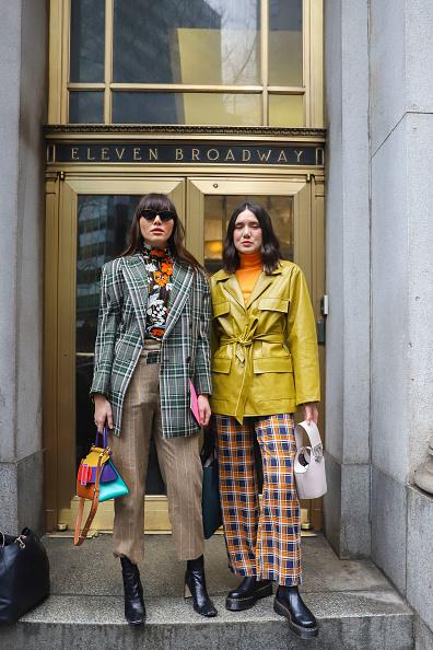 Achim Aaron Harding「Street Style - New York Fashion Week February 2019 - Day 2」:写真・画像(19)[壁紙.com]