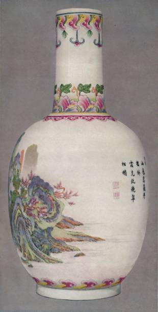 Porcelain Bottle In The Ku Yueh Hsuan Style Chien Long Period:ニュース(壁紙.com)