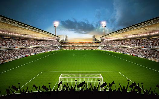 Floodlit「The football field」:スマホ壁紙(14)
