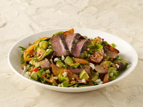飲食「Steak Salad」:スマホ壁紙(15)