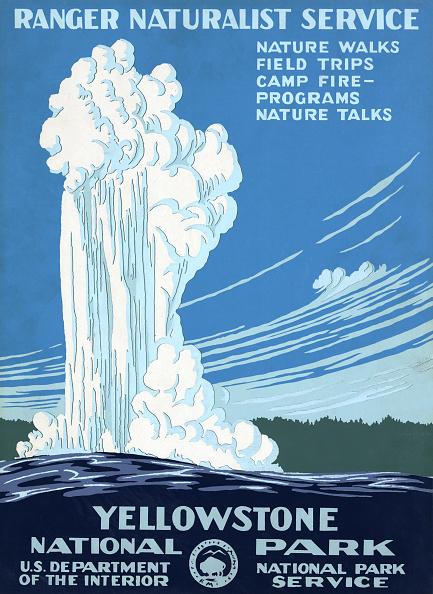 Empty「Yellowstone Park Poster」:写真・画像(5)[壁紙.com]