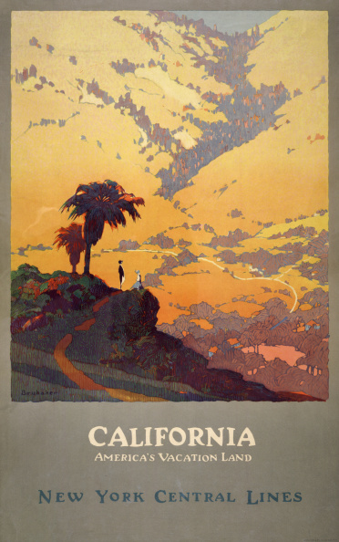 GraphicaArtis「California Travel Poster」:写真・画像(6)[壁紙.com]
