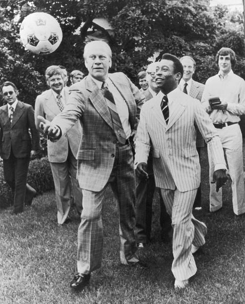 Politician「Ford And Pele」:写真・画像(0)[壁紙.com]