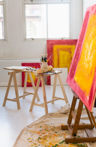 Painter - Artist「Artist's studio」:スマホ壁紙(17)