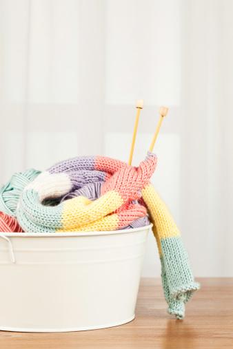 Knitted「Handknitted Scarf and Yarn」:スマホ壁紙(17)