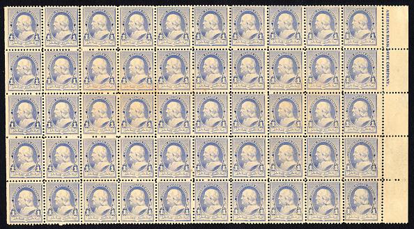 Print Collector「1C Franklin Imprint Block Of Fifty」:写真・画像(9)[壁紙.com]