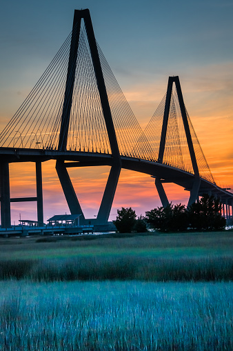 Charleston - South Carolina「Ravenel Bridge Detail」:スマホ壁紙(14)