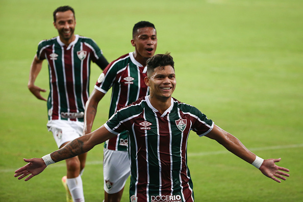 Campeonato Brasileiro Série A「2020 Brasileirao Series A:  Fluminense v Palmeiras Play Behind Closed Doors Amidst the Coronavirus (COVID - 19) Pandemic」:写真・画像(13)[壁紙.com]