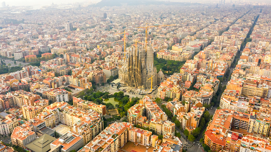 Cathedral「Sagrada Familia Barcelona Spain」:スマホ壁紙(16)
