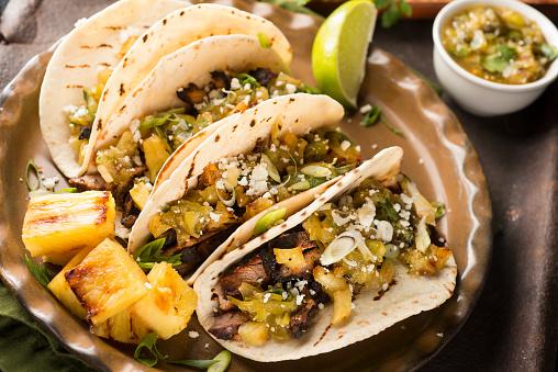 Fusion Food「Tacos Al Pastor」:スマホ壁紙(1)