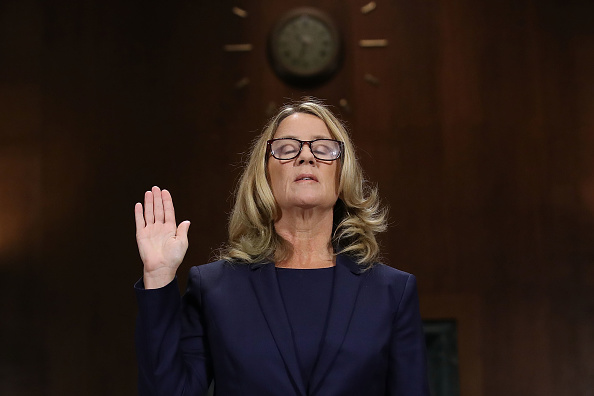 Testimony「Dr. Christine Blasey Ford And Supreme Court Nominee Brett Kavanaugh Testify To Senate Judiciary Committee」:写真・画像(10)[壁紙.com]