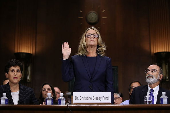 Win McNamee「Dr. Christine Blasey Ford And Supreme Court Nominee Brett Kavanaugh Testify To Senate Judiciary Committee」:写真・画像(9)[壁紙.com]