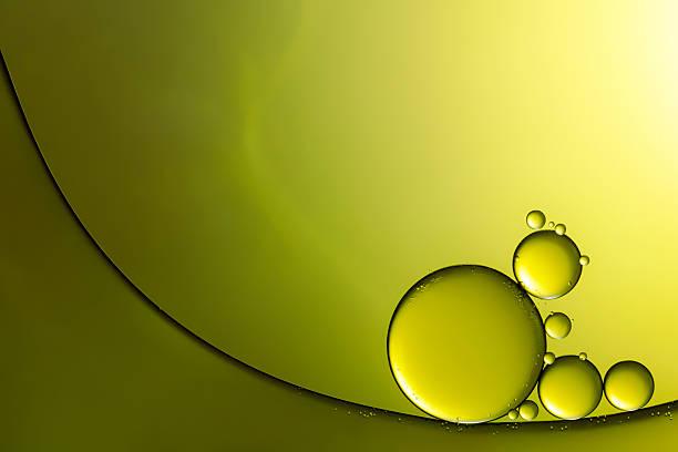 Oil & Water - Abstract Background Green Macro:スマホ壁紙(壁紙.com)