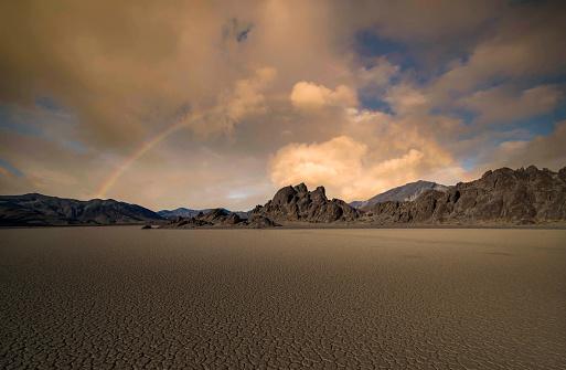Mud「Racetrack Playa, Death Valley NP」:スマホ壁紙(7)