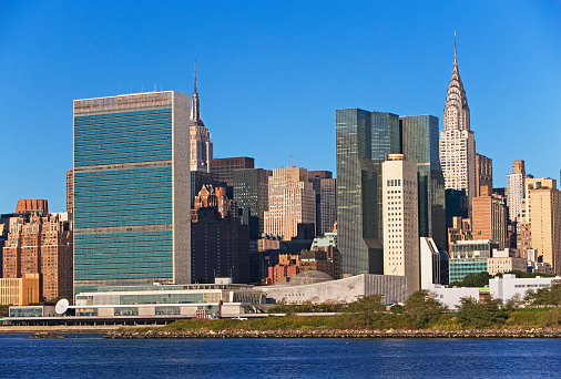United Nations Building「Waterfront cityscape」:スマホ壁紙(13)