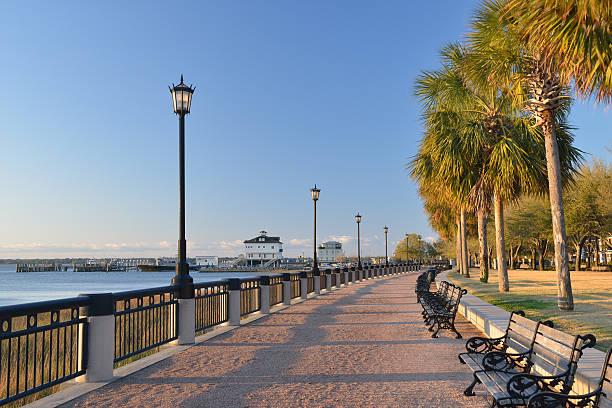 Waterfront Walk in Charleston:スマホ壁紙(壁紙.com)
