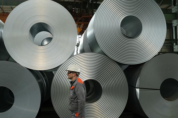 Metal Industry「Steel Production At Salzgitter AG」:写真・画像(2)[壁紙.com]