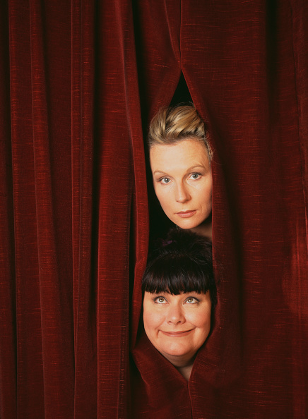 Curtain「French And Saunders」:写真・画像(17)[壁紙.com]