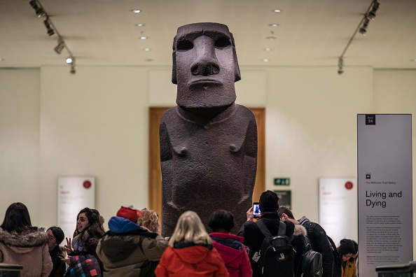 Basalt「Governor Of Easter Island Requests The British Museum To Return 'Moai' Figure」:写真・画像(4)[壁紙.com]