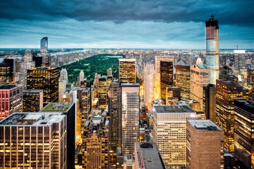 マンハッタン セントラルパーク「New York の空からの眺め」:スマホ壁紙(19)