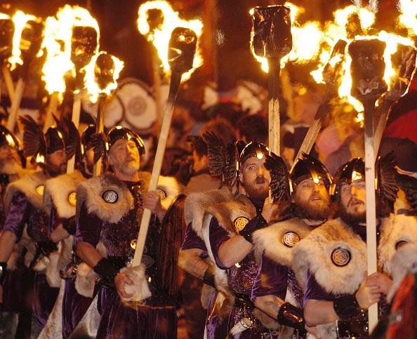 Horned「Shetlanders Celebrate Annual Viking Festival Of Fire  」:写真・画像(13)[壁紙.com]