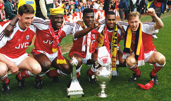 勝つ「Arsenal Division One Champions 1991」:写真・画像(18)[壁紙.com]