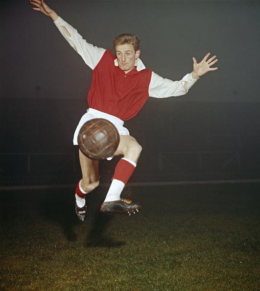 Soccer Team「George Eastham Arsenal 1960」:写真・画像(11)[壁紙.com]