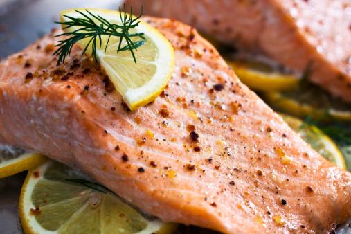 Salmon Steak「Baked Salmon」:スマホ壁紙(5)