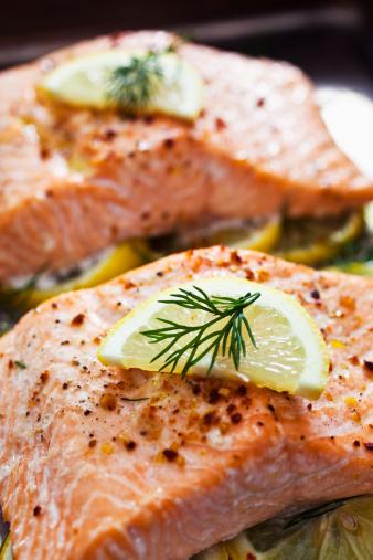 Salmon Steak「Baked Salmon」:スマホ壁紙(7)