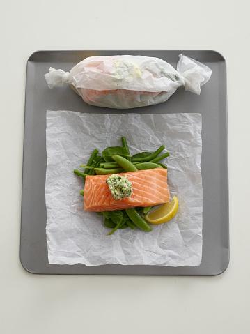 Bush Bean「Baked Salmon - step by step」:スマホ壁紙(2)