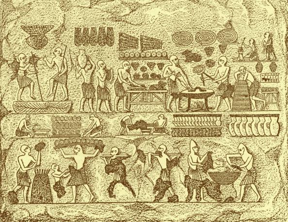 Bread「Ancient Egyptians baking bread」:写真・画像(18)[壁紙.com]