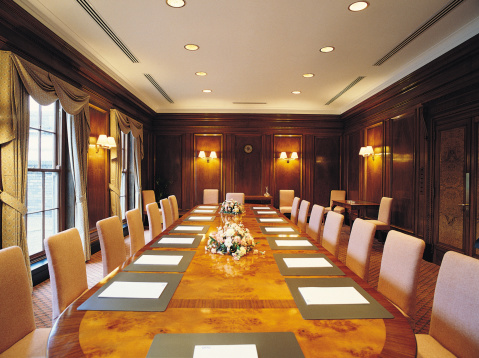 Corporate Business「Lavish boardroom」:スマホ壁紙(18)