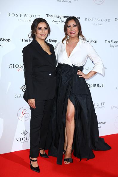 Flared Dress「The 9th Annual Global Gift Gala - Red Carpet Arrivals」:写真・画像(0)[壁紙.com]