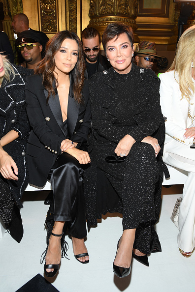 Paris Fashion Week「Balmain : Front Row -  Paris Fashion Week - Womenswear Spring Summer 2020」:写真・画像(17)[壁紙.com]
